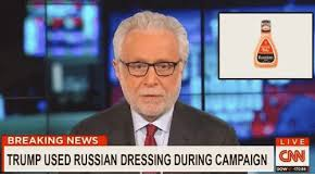 Breaking News Meme - breaking news live trump used russian dressing during caign onn