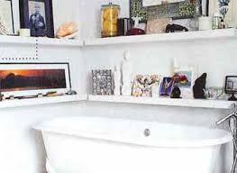 best 25 bathroom shelves ideas on pinterest powder room decor realie
