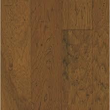 Lowes Hardwood Floors Shop Bruce Hickory Hardwood Flooring Sample Classic Brown At