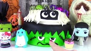 Halloween Monster Cake by Halloween Monster Cake For Fizzy S Birthday Frankenstein And