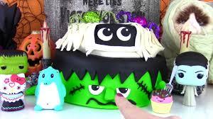 halloween monster cake for fizzy s birthday frankenstein and