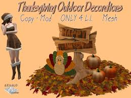second marketplace thanksgiving outdoor decorations fall