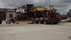kenworth tractor kenworth t800 tractor 3 axle low boy trailer youtube