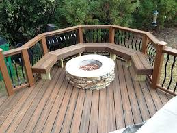 nice deck firepit ideas u2014 home fireplaces firepits
