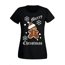 womens ladies cute minnie mouse gingerbread man christmas festive