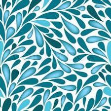 simple blue u0026 white raindrop tiling pattern illustrations