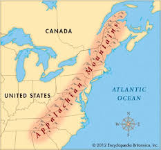 united states map with rivers and mountain ranges best 25 appalachian mountains map ideas on