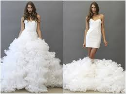two wedding dresses wedding dress of the week jaden by hayley 2 in 1 dress