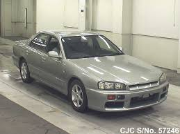 nissan skyline for sale in japan 1999 nissan skyline gray metallic for sale stock no 57246
