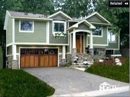 split level ranch split level house remodel as seen on curb appeal this split level