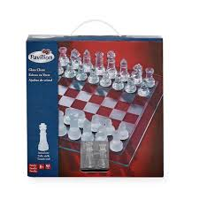 amazon com pavilion glass chess set toys u0026 games