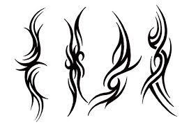 tribal cat name tattoos on upper back all tattoos for men