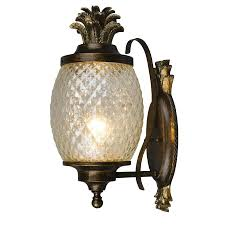 Lowes Porch Lights by Shop Portfolio Outdoor Wall Light At Lowes Com