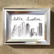 houston skyline drawing hello houston downtown houston drawing