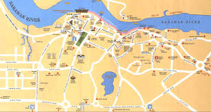 Map Of Malaysia Kuching Map