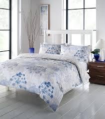 chervil fl dandelion duvet cover quilt set blue white printed duvet cover custom printed duvet covers