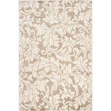 Modern Indoor Outdoor Rugs Safavieh Amherst Wheat Beige 6 Ft X 9 Ft Indoor Outdoor Area Rug