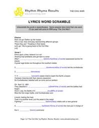 the president u0027s cabinet song with free worksheets and activities