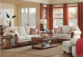 cindy crawford home key west cove beige 7 pc living room living