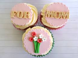 mothers day cupcake fondant edible toppers mothers day edible