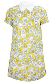 yellow shift dress primark spring summer 2014 instyle uk