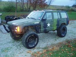 jeep cherokee toy 1988 jeep cherokee xj lifted 35