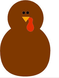 turkey cutout template base projects thanksgiving