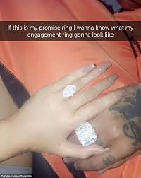 promise rings uk jenner plugs makeup line daily mail online