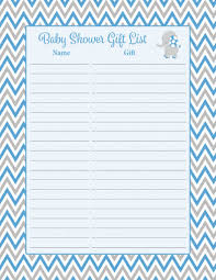Baby Shower Gift Crafts Baby Shower Gift List Elephant Baby Shower Theme For Baby Boy
