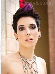 how tohi lite shirt pixie hair amethyst amore spiky pixie purple highlights want to do