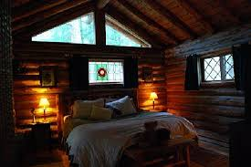 Log Home Bedrooms The Very Cozy Cabin Bedroom Picture Of Guest House Log Cottages