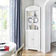 small white corner cabinet for kitchen white kitchen corner cabinets for sale in stock ebay