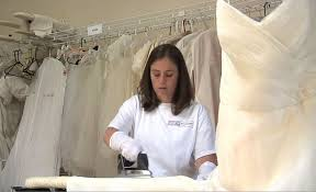 wedding dress cleaning and boxing modern style wedding dress cleaning and preservation with wedding