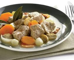 recette blanquette de veau à l ancienne seb
