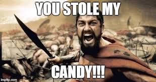 Meme Candy - stolen candy imgflip