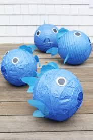 Nautical Decor Ideas Nautical Decor Idea Diy Fish Lanterns Diy With Lmp Pinterest