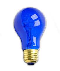25 watt a19 transparent blue light bulb incandescent bulbs