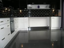 high gloss tiles for kitchen is interior design