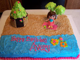 julie daly cakes happy birthday from dora