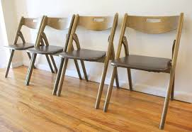 mid century modern folding chairs by coronet picked vintage