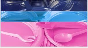 piatti e bicchieri di plastica colorati motuca trade