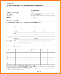 5 electrical contractor invoice template short paid invoice