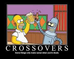Bender Futurama Meme - homer bender crossover know your meme