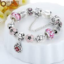 silver bead bracelet diy images Crystal beads diamond tibetan silver bracelet female diy beaded jpg