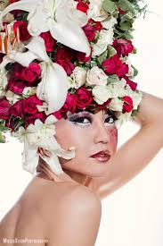 floral headdress floral headdress