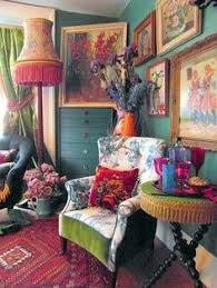 gypsy living room the gorgeous gaudiness of the gladioli painting is perfectly at