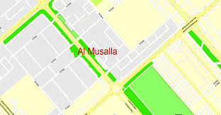 printable abu dhabi road map abu dhabi road map pdf usa map