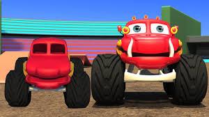 video de monster truck monstruo camión atrofiar videos infantiles colección vídeo
