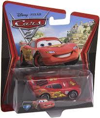 amazon com disney pixar cars 2 lightning mcqueen with racing