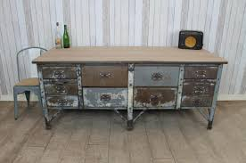 metal kitchen islands vintage industrial metal kitchen island work bench